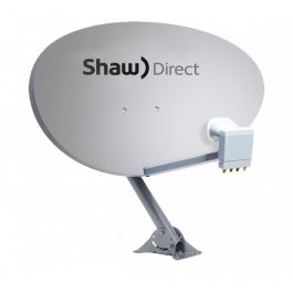 Shaw Direct Triple Satellite Quad Output Switchable xKu LNBF For 75E Dish 75cm
