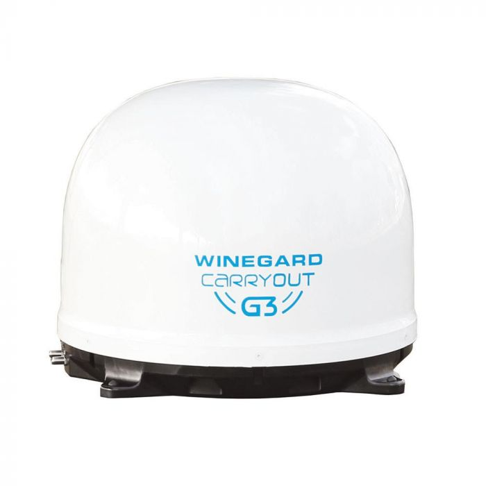 Winegard Carry Out G3 Bell Portable Dish - White (GM-9000)