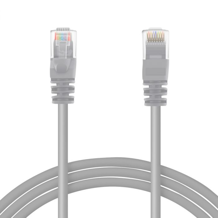 Perfect Vision Cat 5E Network Cable - 14' Grey (CATPC14GRA)