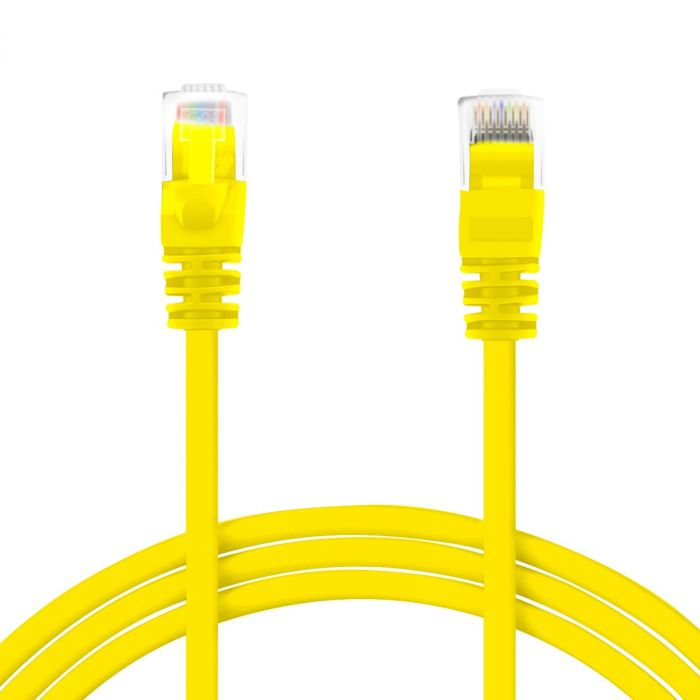 Perfect Vision Cat 5E Network Cable - 7' Yellow (CATPC7YEL)