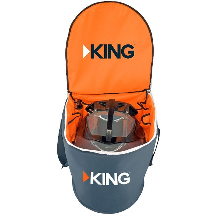KING QUEST Portable Satellite Antenna Carry Bag