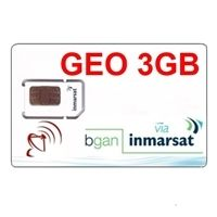 Inmarsat BGAN Link GEO 3GB Monthly Plan