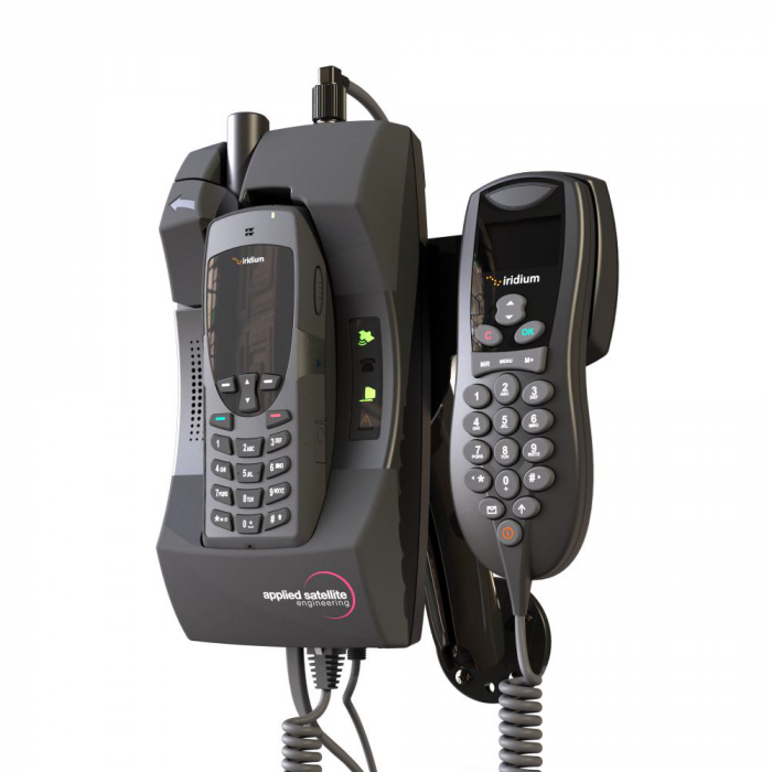 ASE Docking Station w/ Handset for Iridium 9555 Satellite Phones (ASE-DK050-H)