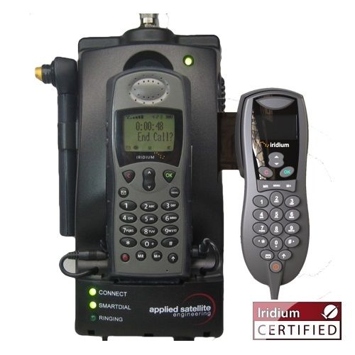 ASE Docking Station w/ POTS, RS232 & Handset for Iridium 9505A Satellite Phones (ASE-MC03-H)