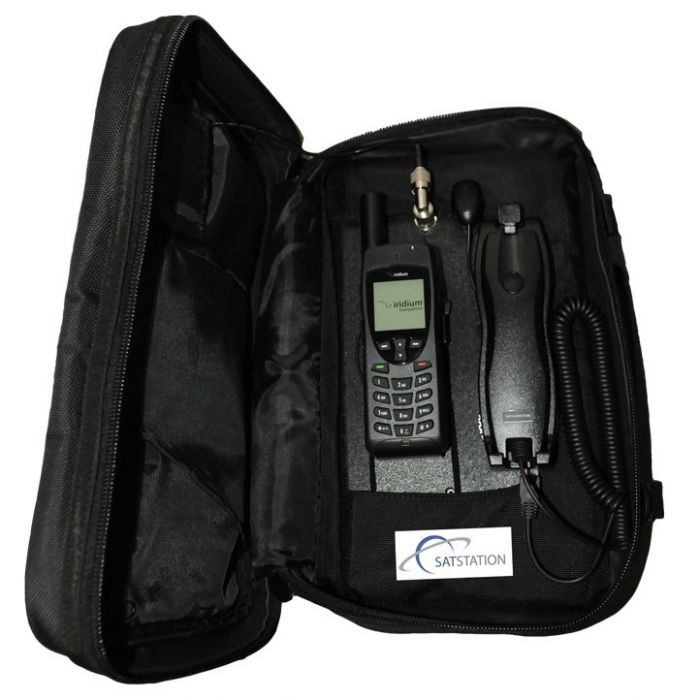 Iridium 9555 Satellite Phone + SatStation 9555 Bag Kit