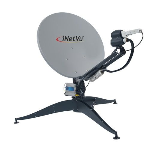 iNetVu FLY 981 98cm Portable Auto-Deploy Ku Band Antenna (FLY-981)