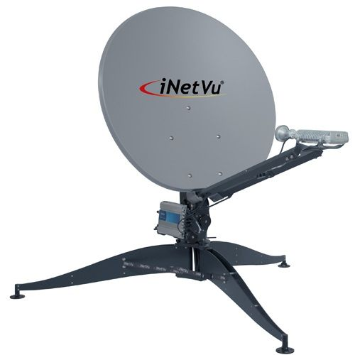 iNetVu FLY-98V 98cm Ka Band Portable Antenna (FLY-98V)