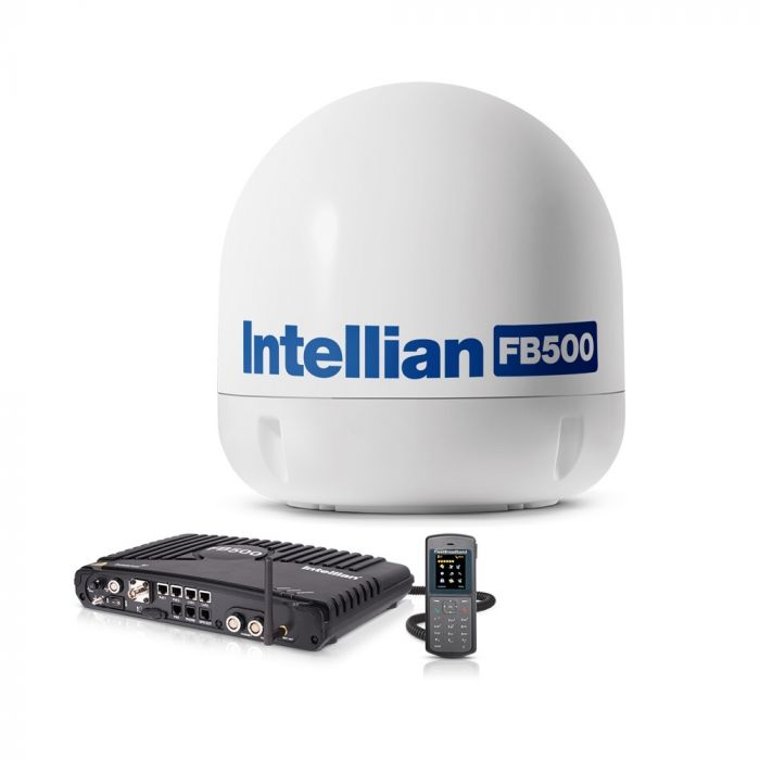 Intellian FleetBroadband 500 Marine Antenna System with 19
