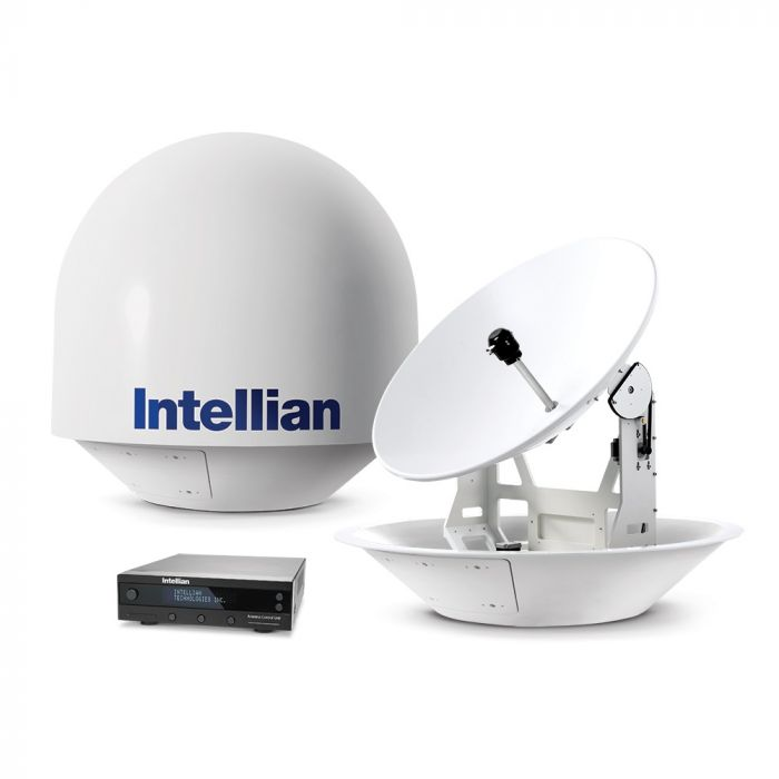 Intellian i9P Auto Skew US / Canada Marine Satellite TV System (B4-919AA)