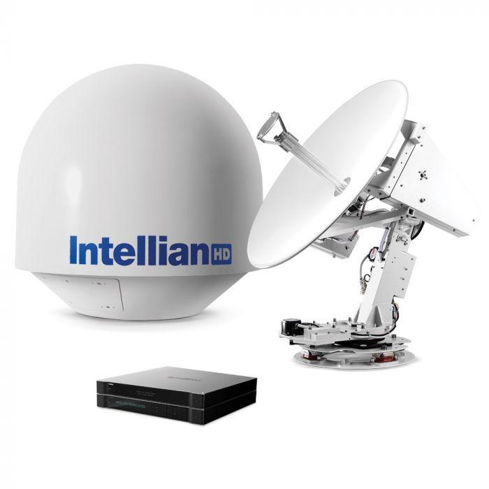Intellian s80HD Direct TV Marine Satellite TV System