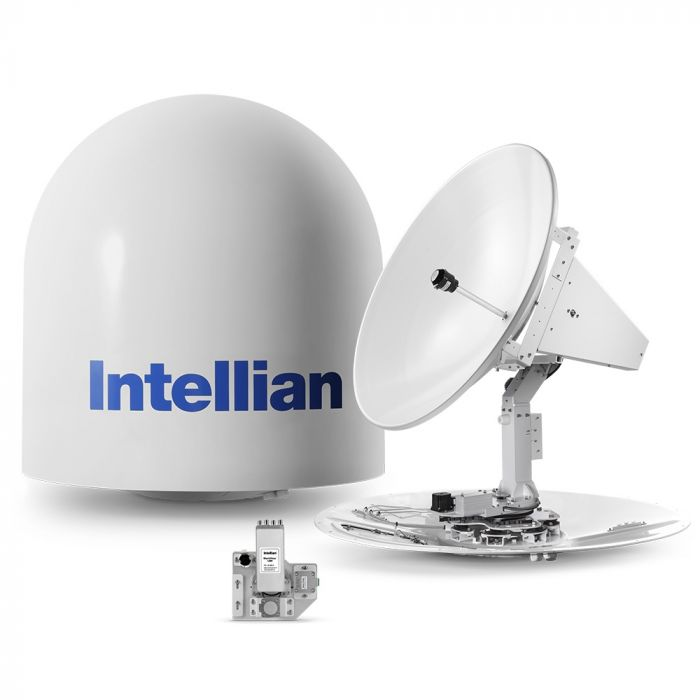 Intellian t100W 3-axis Global Marine Satellite TV System w/ 105cm (41.3