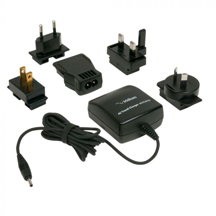 Iridium 9505A / 9555 / 9575 AC Travel Charger + International Plug Kit