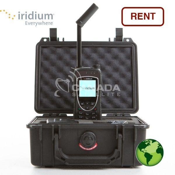 Iridium 9575 Extreme Satellite Phone Rental w/ GPS - GLOBAL - w/ FREE Airtime Minutes