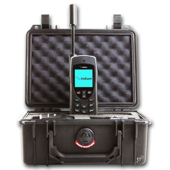 Iridium 9555 Satellite Phone + Pelican 1150 Case (Pre-Owned, 12 Month Warranty)