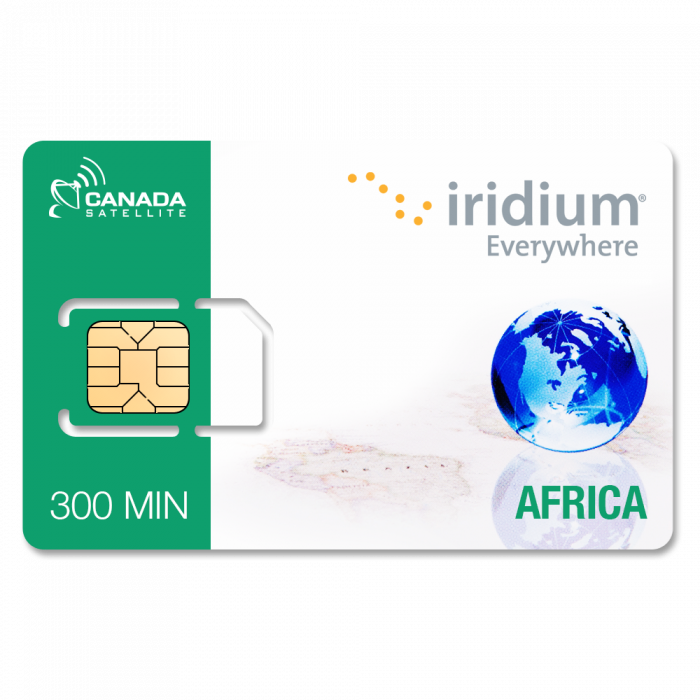 Iridium Africa Online Top Up