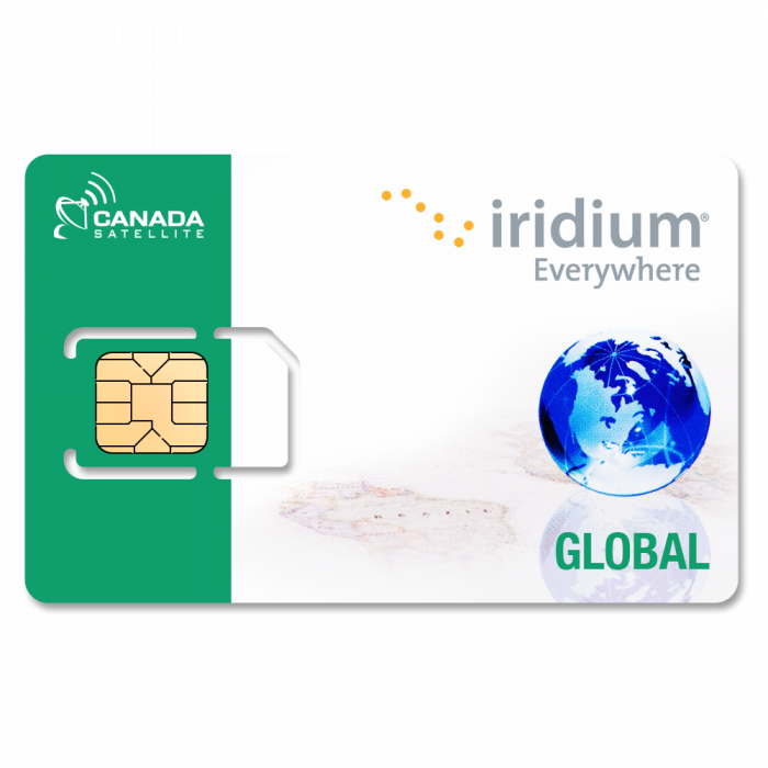 Iridium Global Prepaid Airtime Minutes