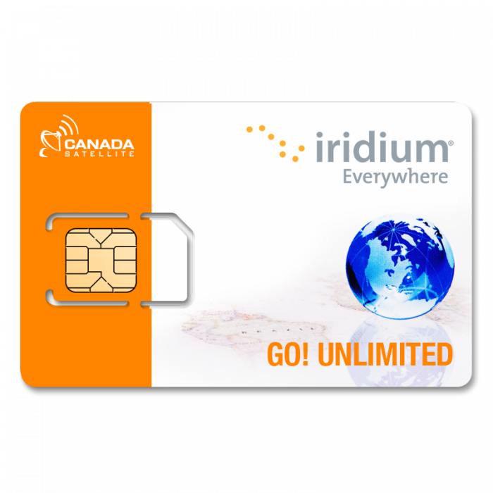 Iridium GO! Unlimited Data Post Paid Monthly Plan (Month to Month)