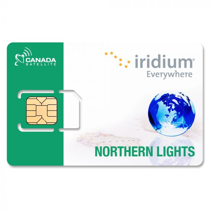 Iridium Northern Lights (Canada / Alaska) Prepaid Airtime Minutes