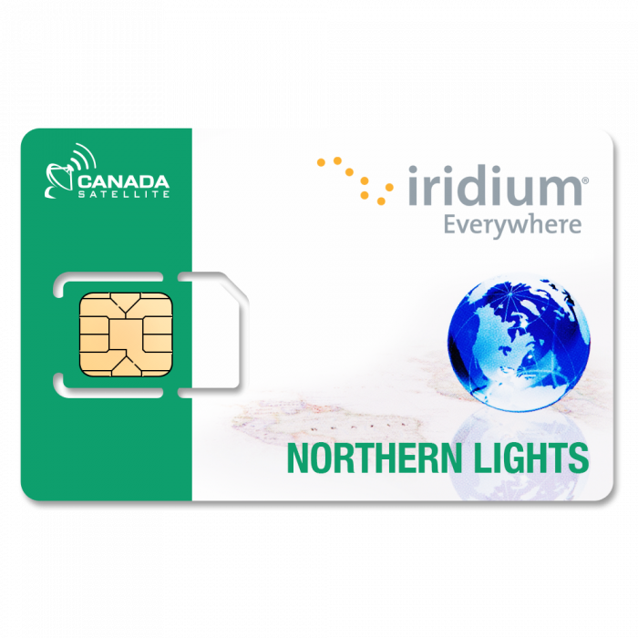 Iridium Northern Lights (Canada / Alaska) - 400 Minutes (Valid up to 12 Months)