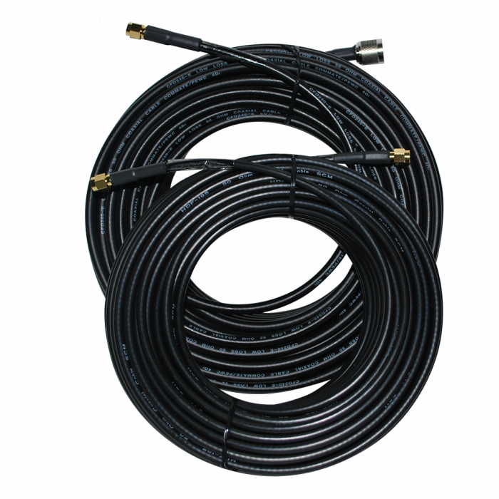 Inmarsat Beam Active SMA/TNC Cable Kit - 18.5m / 60.9ft (ISD934)