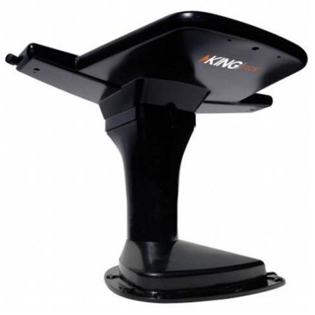 KING Jack™ Antenna with Mount & Built-in Signal Meter - Black (OA8201)