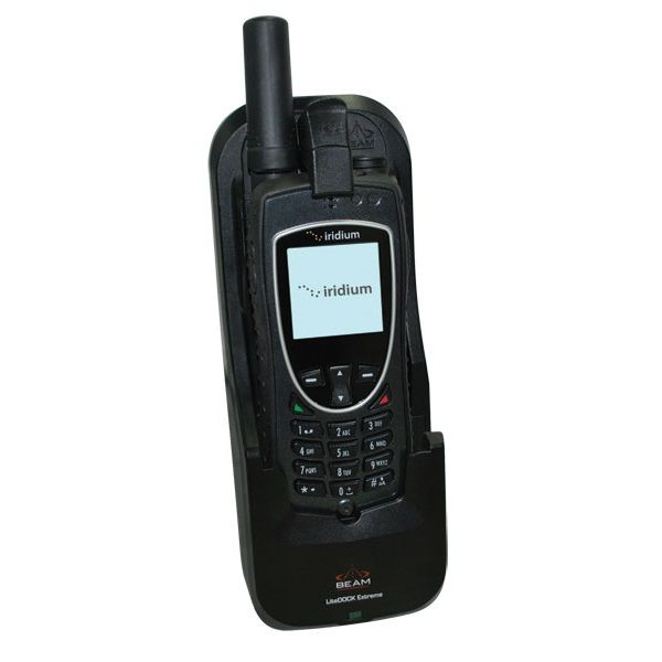 Iridium 9575 Extreme Satellite Phone + Beam LiteDOCK Extreme Docking Station + Free Shipping!!!
