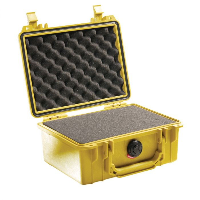 Pelican 1150 Case w/ Pick 'n' Pluck Foam (Yellow)