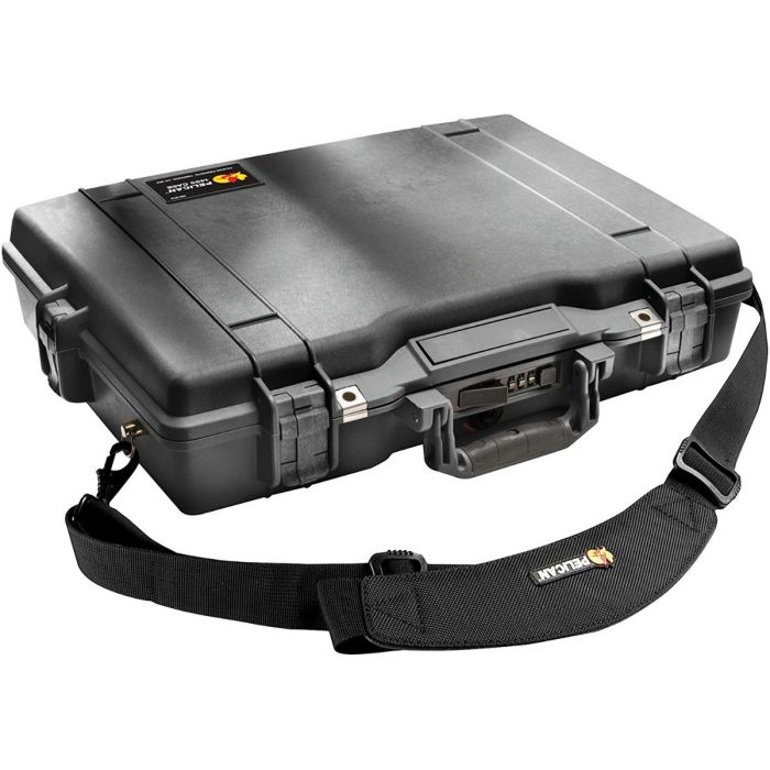 Pelican 1495 Case w/ Pick 'n' Pluck Foam (Black)