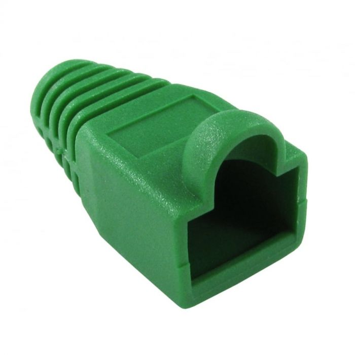 RJ45 Snagless Boot - Green (100 Pack)