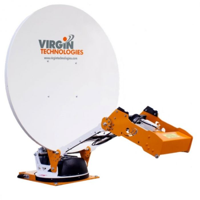 VR7 1.2m Autopointing VSAT Antenna Rental w/ Unlimited Internet Use