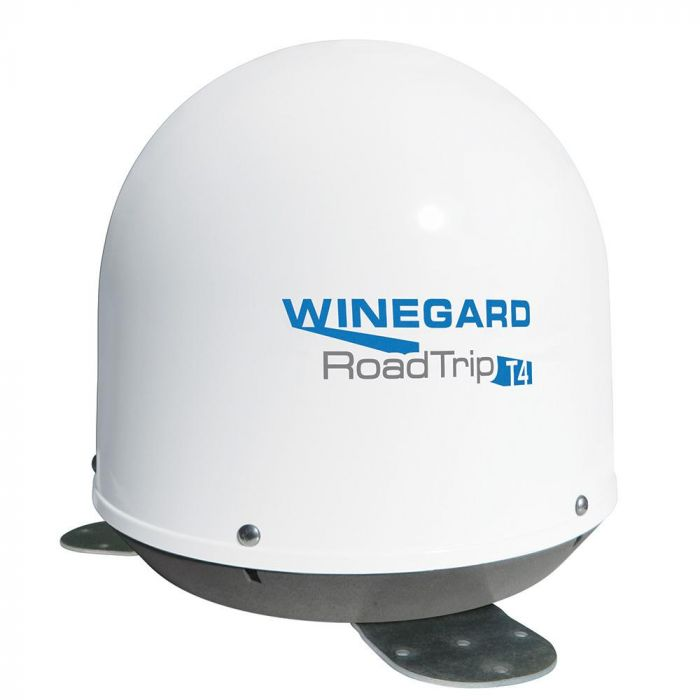 Winegard RoadTrip T4 Automatic In Motion Satellite TV Antenna - White (RT2000T)
