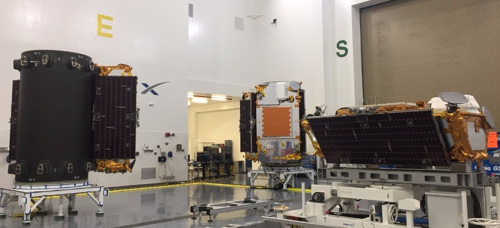 Full Payload of Satellites for Third Iridium® NEXT Launch are Onsite at VAFB